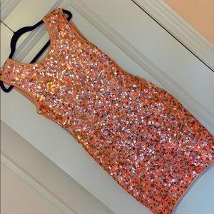 H&M Sequin Mini Dress